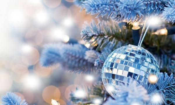 Новогодний диско-шар