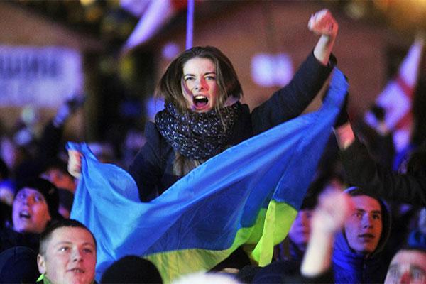 Протест в Украине
