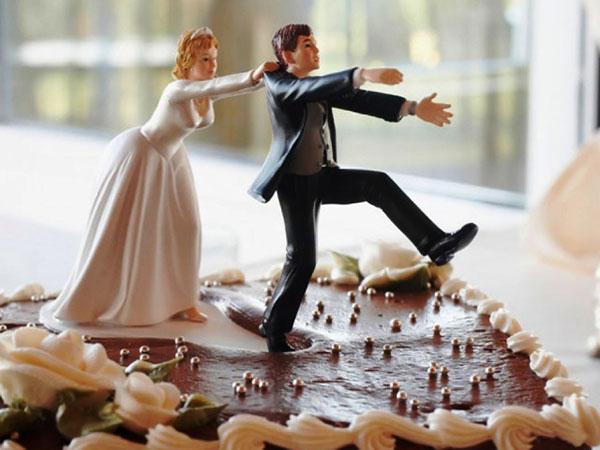 Убегающий от невесты жених
