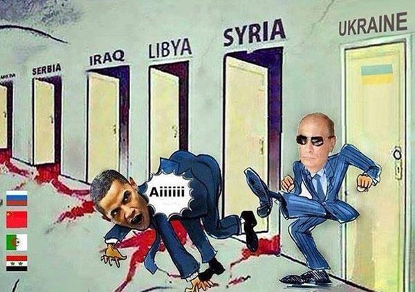 Путин прогоняет Обаму